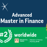 ESCP Europe's Advanced Master in Finance ranks 2nd worldwide in Financial Times rankings